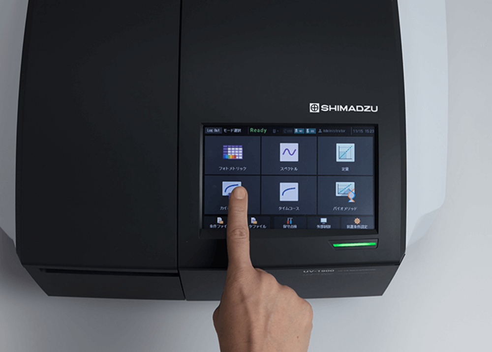 Industry's fastest level scan function and LabSolutions UV